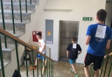 Vytrvalostný maratón chôdze po schodoch