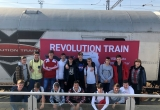 Protidrogový vlak Revolution Train v Prešove